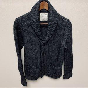 Abercrombie & Fitch Grandpa Cardigan Sweater Large